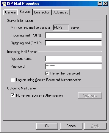 Outlook 2000 check settings - 4
