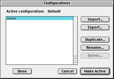 Creating connection Mac OS8 2